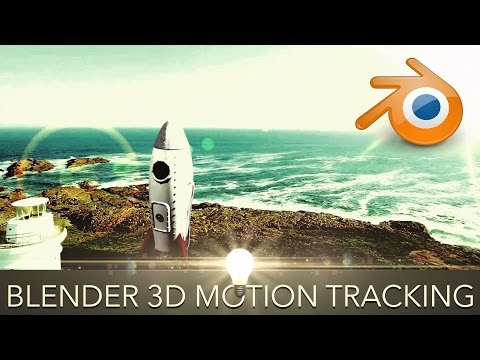 How to 3D Motion Track in Blender - Putting 3D Objects in yo