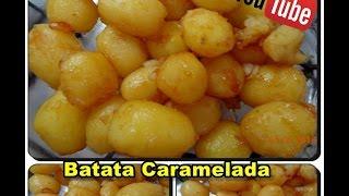 Batata Caramelada com Déby & Ian :)