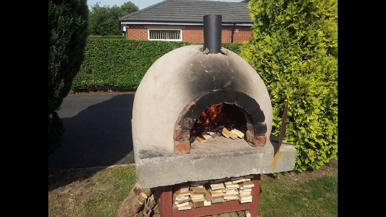How to make a reggae reggae chicken pizza homemade brick for How to make a brick stove