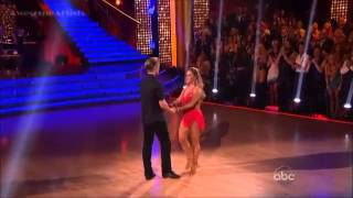 Shawn Johnson and Derek - Instant Cha Cha - DWTS (Allstar Finale)