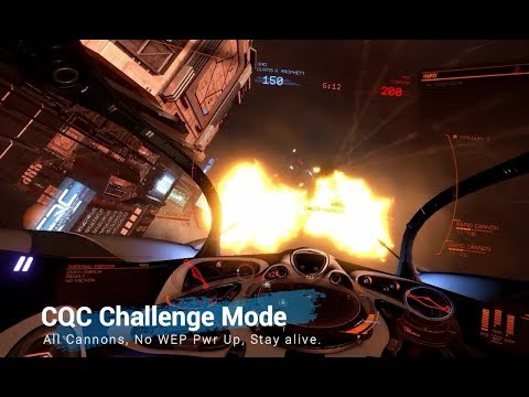 CQC Challenge Mode: Cannons, No Wep Pwr Ups, Stay alive