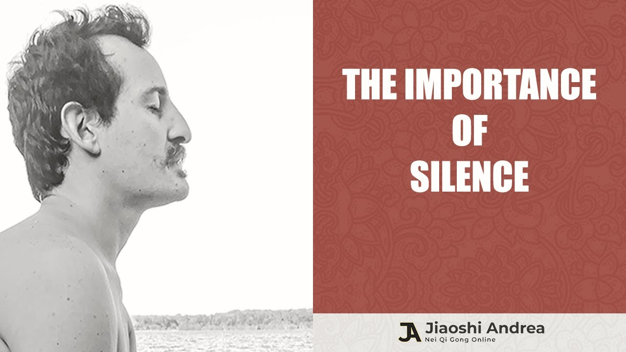 The Importance of Silence and Meditation Exercises