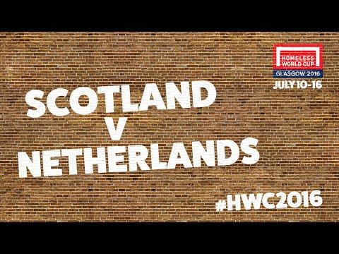 Scotland v Netherlands l Homeless World Cup Quarter Final #HWC2016