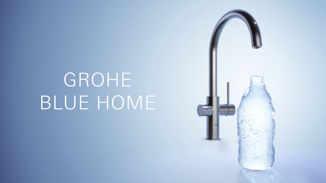 grohe blue home youtube. Black Bedroom Furniture Sets. Home Design Ideas