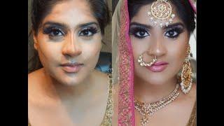 indian bollywood south asian bridal makeup tutorial