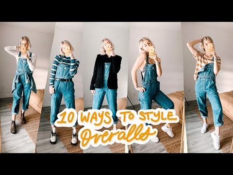 How To: 10 Ways I Style My Overalls