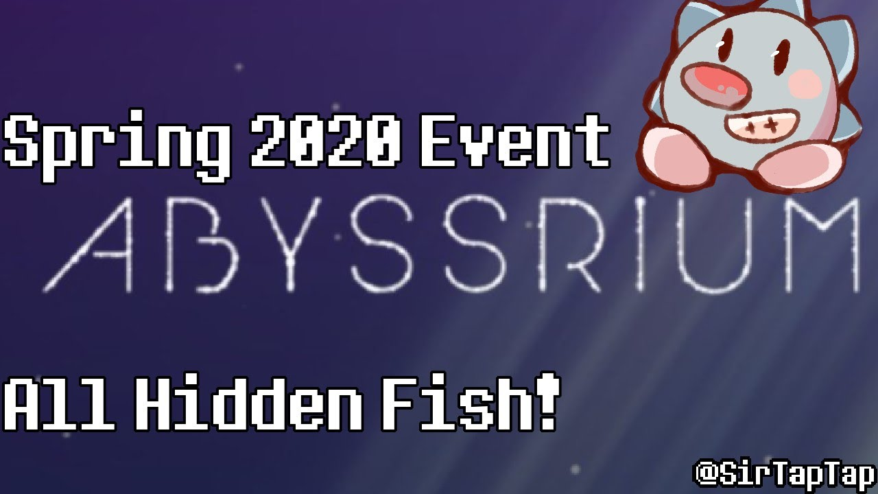 Tap Tap Fish 2020 Christmas Event Hidden Fish Tap Tap Fish AbyssRium Spring 2020 Event | All Hidden Fish Guide