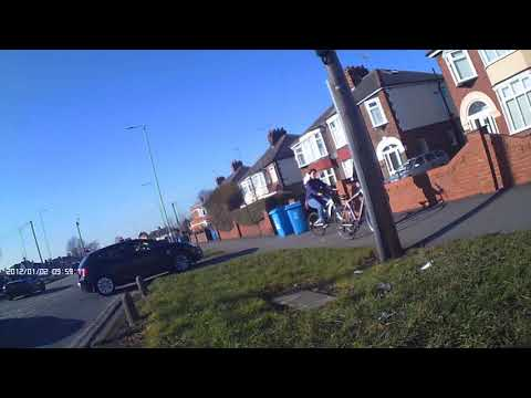 Moment cyclist attacked by road rage driver caught on camera