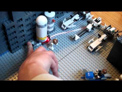 my first lego base and first video on you tube