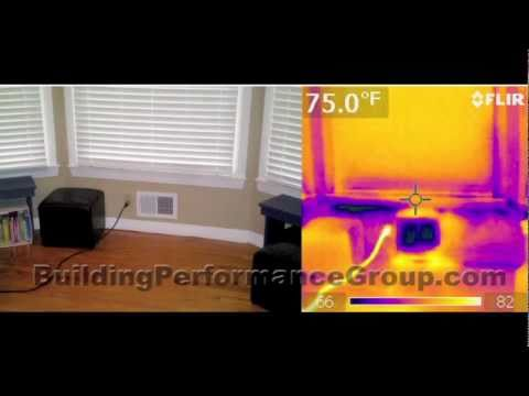 Home Energy Audit - Part 3 - Infrared Camera Inspection