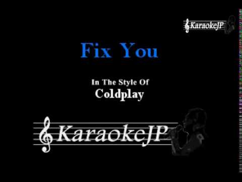 Fix You (Karaoke) - Coldplay