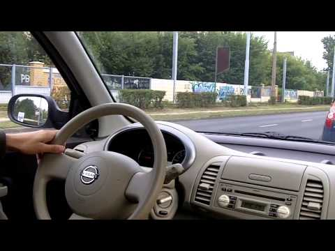Nissan Micra K12 driving 1