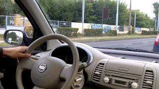 Nissan Micra K12 driving 1