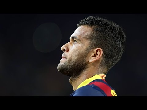 FC Barcelona: All Dani Alves' goals (2008-2016)