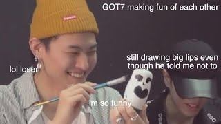 got7 making fun of each other