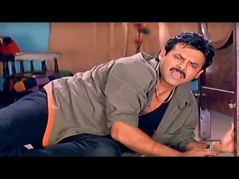 Venkatesh Ultimate Comedy Scene   Telugu Videos   Show Time Videos