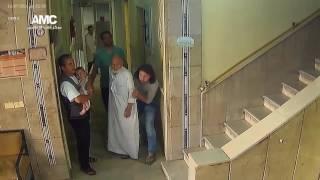 شاهد.. لحظة استهداف مستشفى بحلب