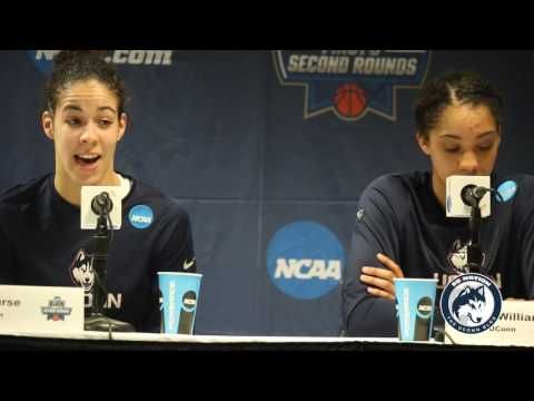 UConn Women's Basketball NCAA Tournament Postgame - 2nd Round