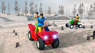 Quad Bike Stunt OffRoad Racing Mania 3D Game - Gameplay Android games