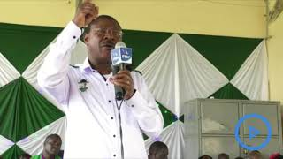 Moses Wetangula urges President Uhuru to maintain the war of graft