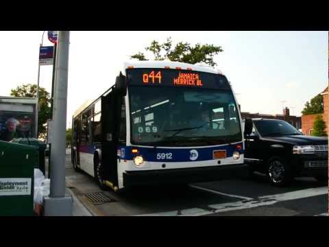 2012 NovaBus LFS Articulated 5912 On The Q44 Limited @ Main Street & Jewel Avenue