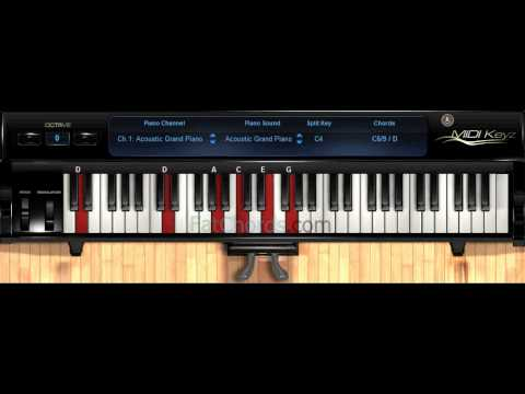 Fat Chords #40 - Piano Progression Voicings Phat Neo Soul Jazz Church