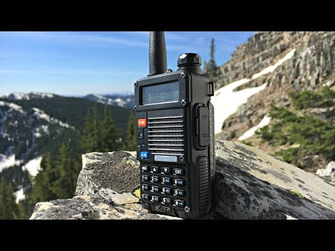 BaoFeng F8HP - A Radio For The Backcountry