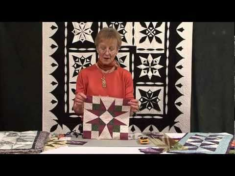 54-40 or Fight patchwork pattern with Jennie Rayment (Taster Video)