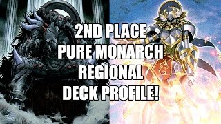 2nd Place Kyne L. Cooley Pure Monarchs Scunthorpe, England Regional Deck Profile