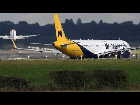 Monarch Airlines enters administration