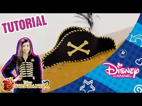 Descendants 2 | Craft Tutorial | Harry Hook's Pirate Hat | Official Disney Channel Africa