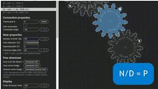 gear Generator How to Draw Perfect Gears (online, no download)