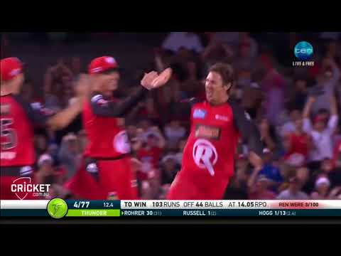 Brad Hogg Destroying the rest of the cricket competition at 47 years young.