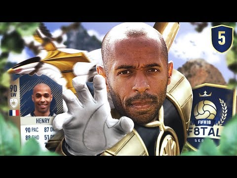THE BIGGEST GAMES SO FAR!! - FIFA 18 F8TAL ICON HENRY #5
