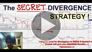 Secret Divergence Startegy in Stock/Forex Markets for FREE !