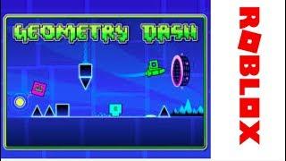 Geometry Dash in Roblox | Crazychicken 624 |
