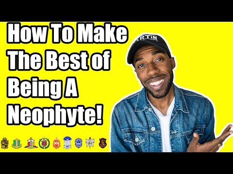 HOW TO MAKE THE BEST OF BEING A NEOPHYTE!? | NPHC ADVICE