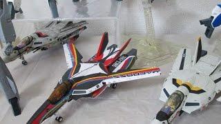 【マクロス玩具レビュー】 マクロス35周年記念 やまと・アルカディア 1/60 完全変形 VF-1 コレクション VF-1 変形 / 1/60 VF-1 Collection