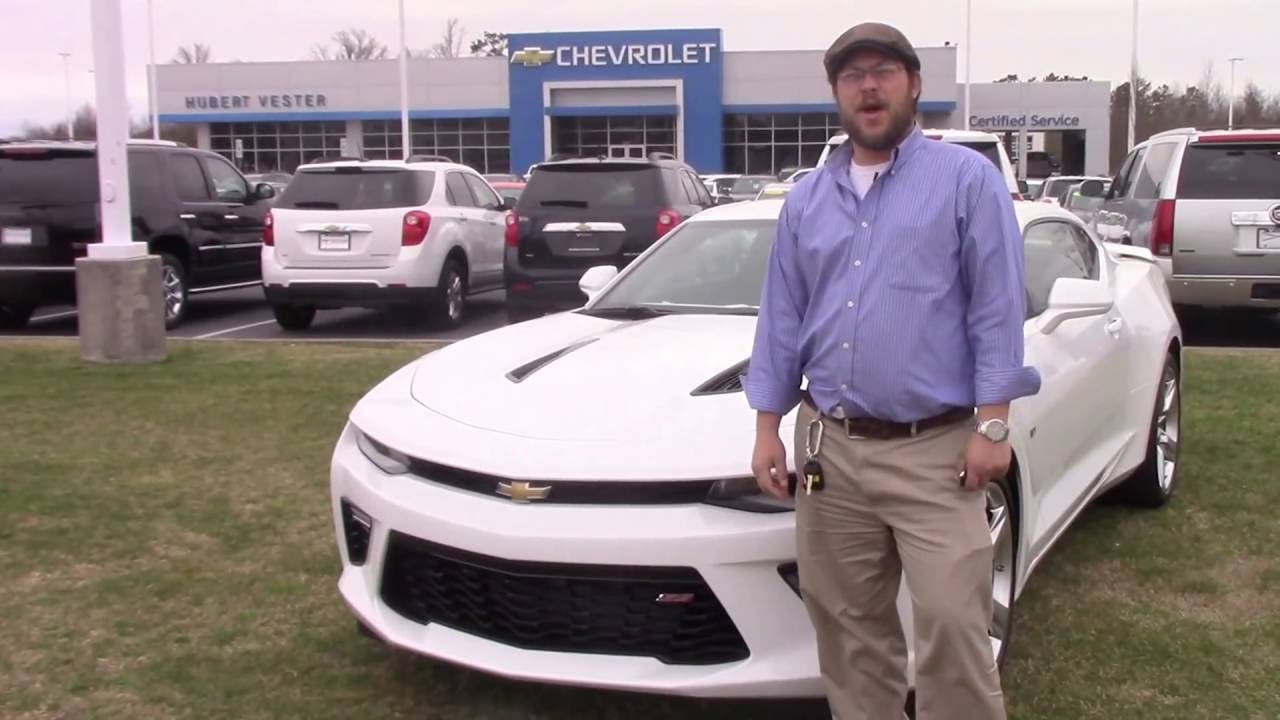 2016 Chevrolet Camaro 2SS Hubert Vester Chevrolet Wilson, NC
