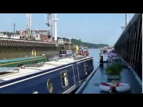 Ellesmere Port to Liverpool via the Manchester Ship Canal and The River Mersey