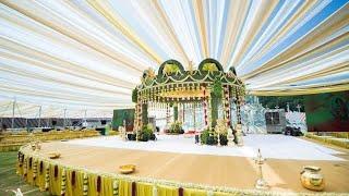 Marriage Mandpam Design /marriage Decorations