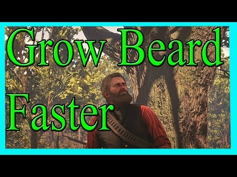 Red Dead Redemption 2 - How To Grow Beard Faster