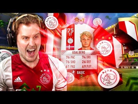 AJAX WONDERKIND STRIKER KASPER DOLBERG! THE ULTIMATE AJAX UPGRADE SQUAD! FIFA 17 ULTIMATE TEAM