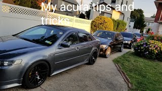 MY ACURA TIPS AND TRICKS TUTORIAL