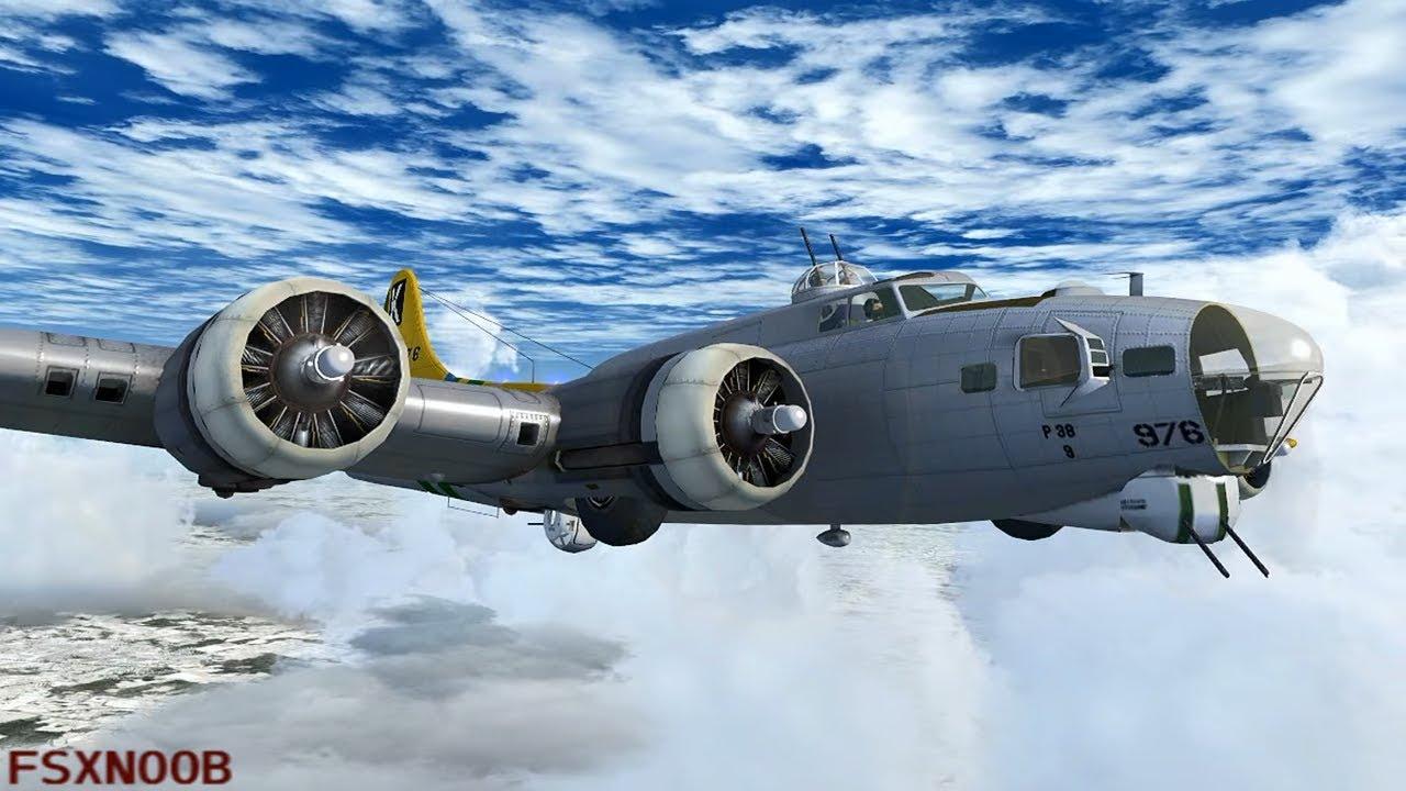 FSX B-17 Bombing Europe