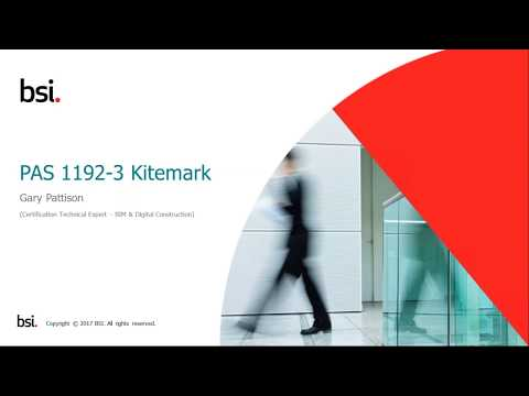 BSI Kitemark™️ for BIM Asset Management – Deliver efficient asset management
