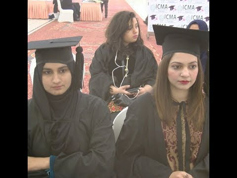 Institute of Cost and Management Accounts of Pakistan organized CMA graduation function