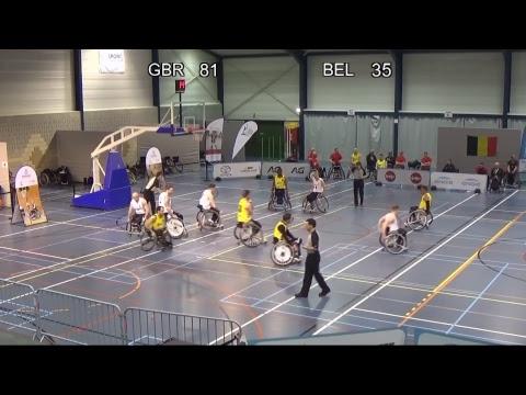 Easter Tournament Wheelchair Basketball - Match 3: Great Britain - Belgium