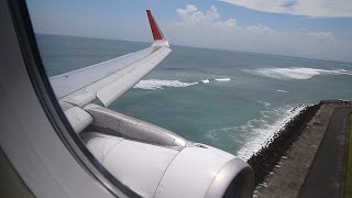 Video Welcome to Paradise!! Landing at Bali-Denpasar on Indonesia AirAsia Airbus A320 download MP3, 3GP, MP4, WEBM, AVI, FLV Juni 2018