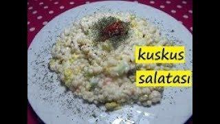kuskus salatası nasıl yapılır-lezzet dünyası
